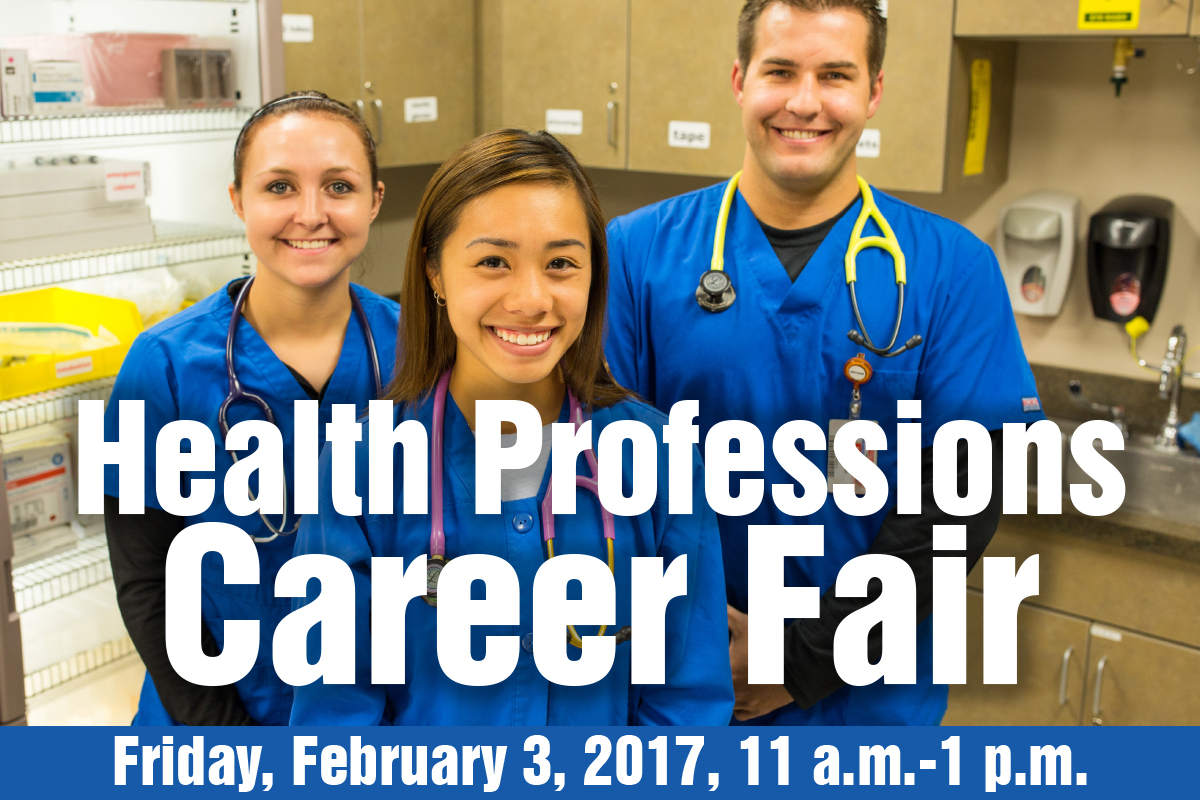 Casper College's Health Professions Career Fair will be held on Friday, Feb. 3 from 11 a.m. to 1 p.m. in the T-Bird Nest.