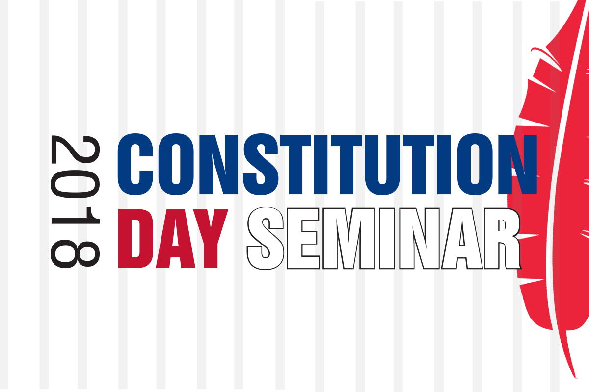 Image for Constitution Day Seminar.