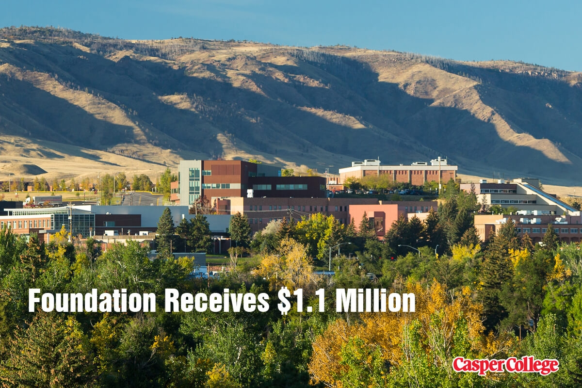 Photo of Casper College campus for Donation Release.