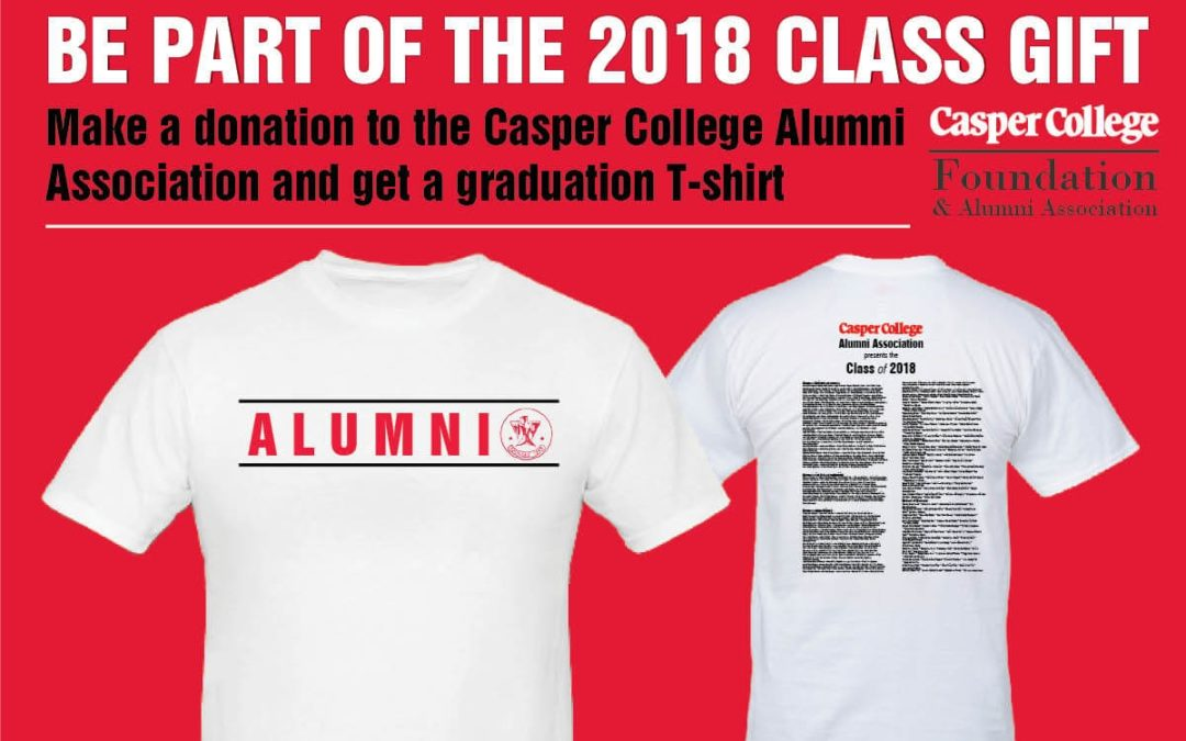 2018 Casper College Grads Ts Available for Limited Time