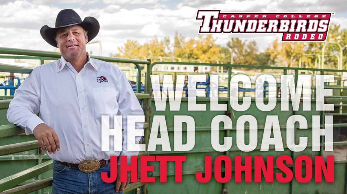 Casper College Rodeo Coach Jhett Johnson