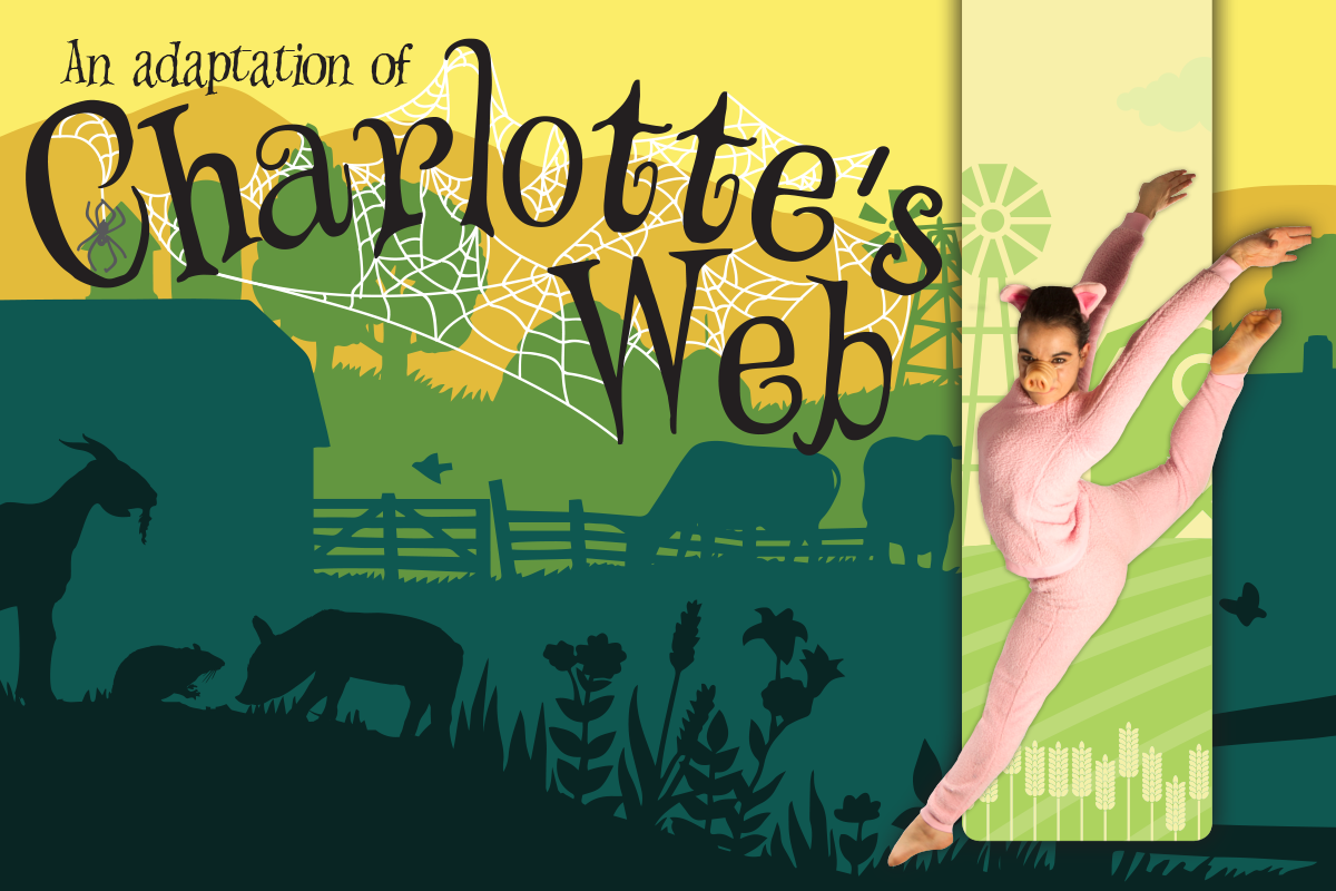 """Tickets are now on sale for the Spring Contemporary Dance Concert's performance of """"Charlotte's Web,"""" March 30, April 1 and 2, and April 6 through 8 at the Barbara and Leland Scifers Dance Studio."""
