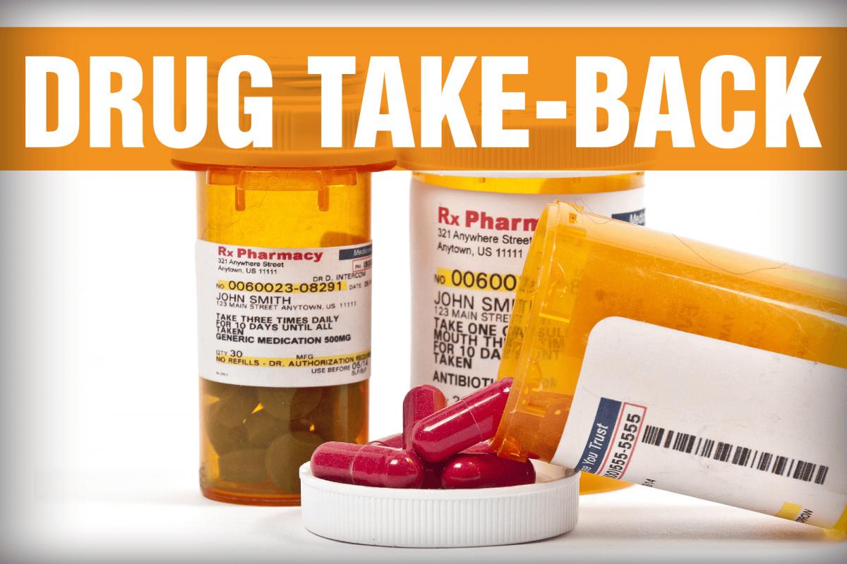 Image for drug take-back release.