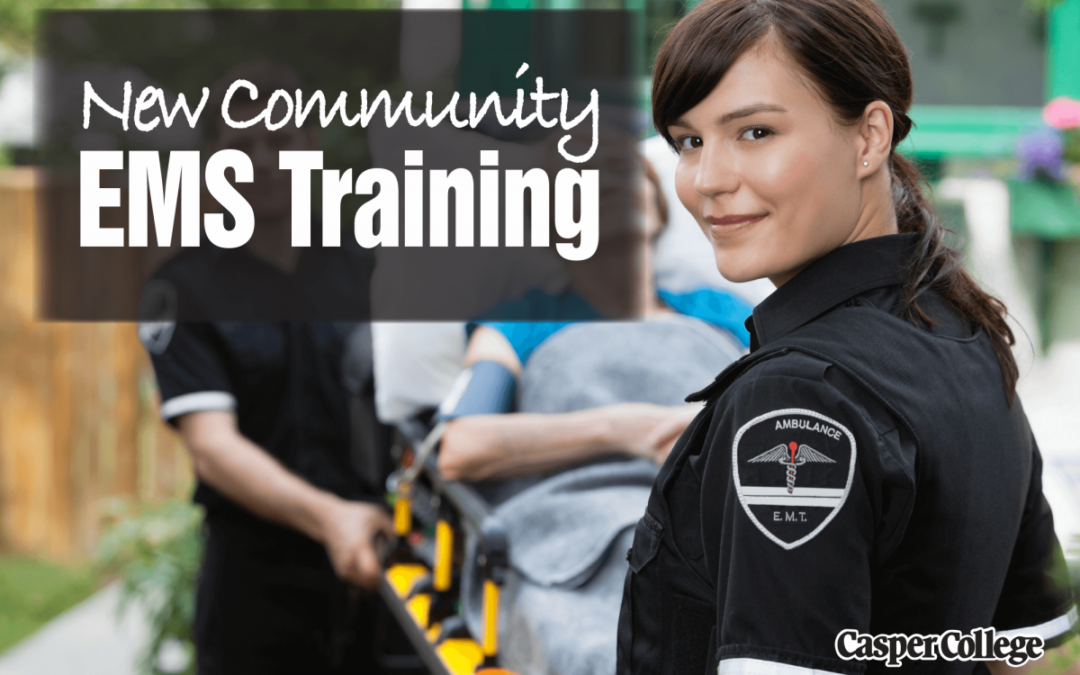 Four Community EMS Classes Offered for Fall