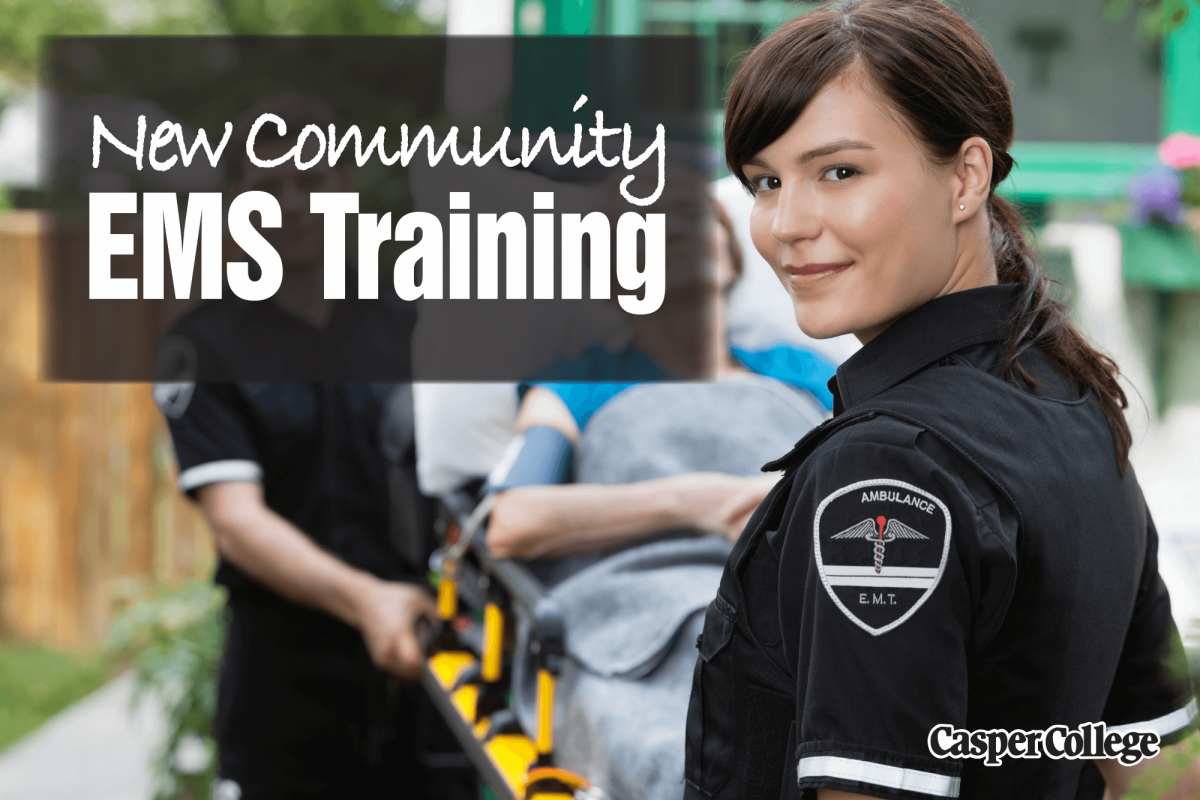Image for new EMS classes press release.