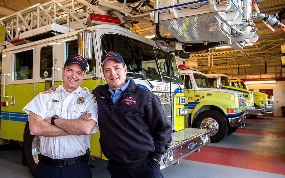 The Firefighting Brothers of Casper College