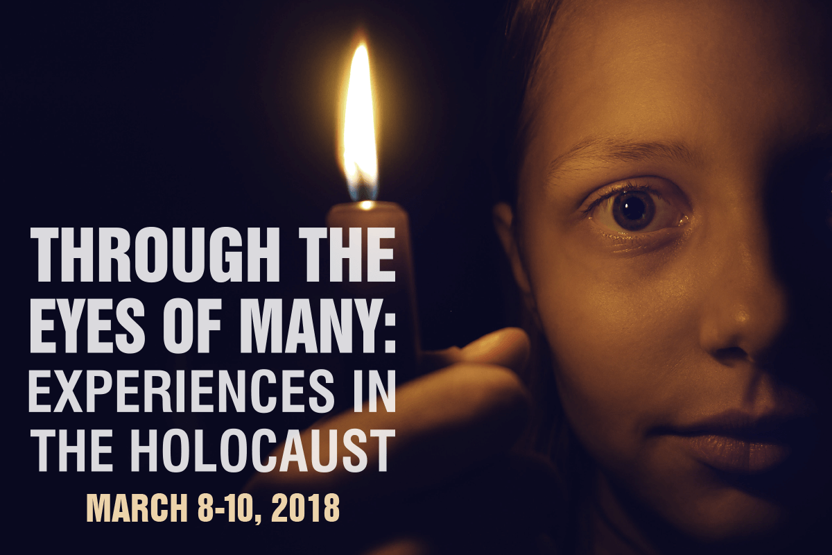 "Casper College will host a free three-day seminar ""Through the Eyes of Many: Experiences in the Holocaust"" March 8-10."