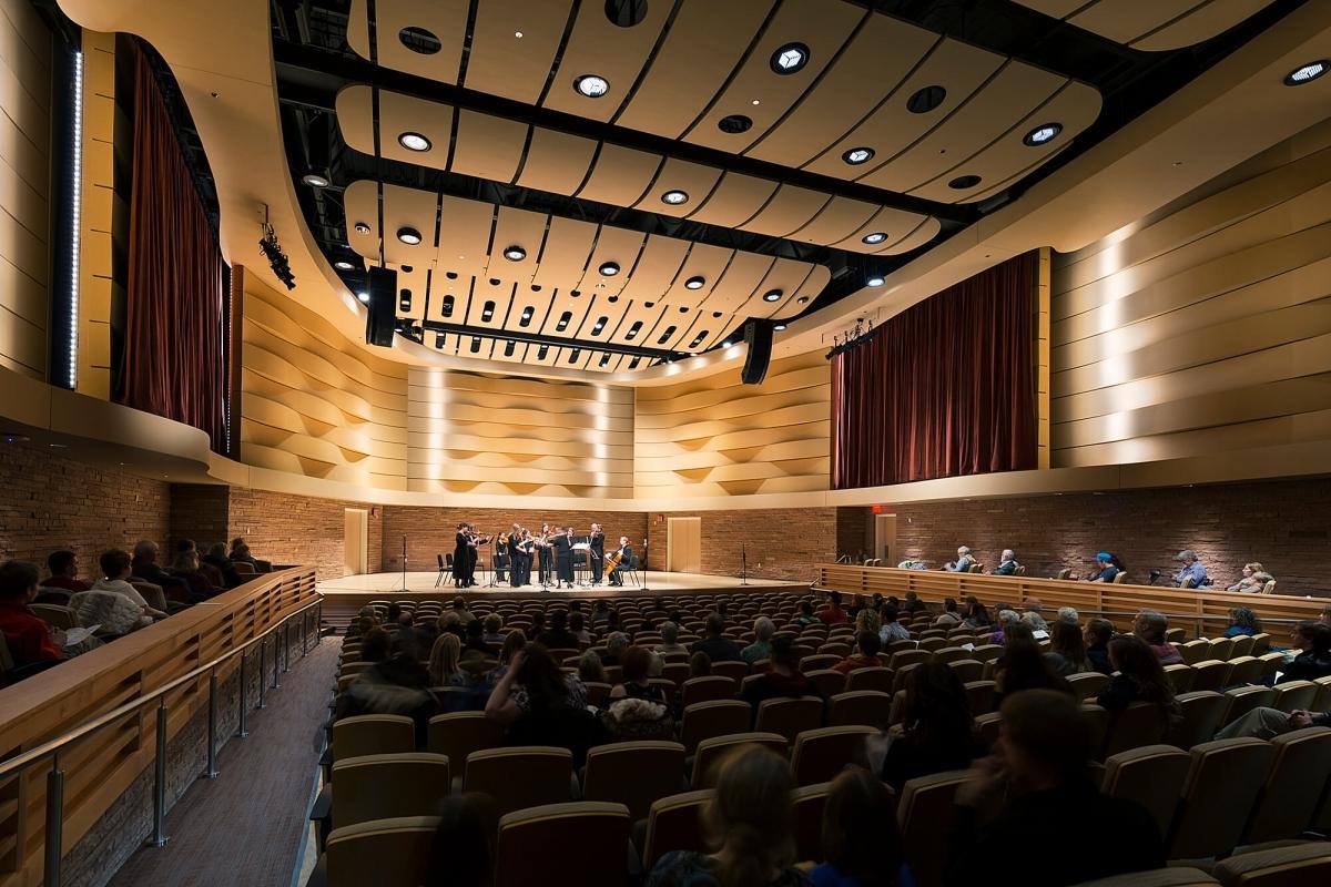 Photo of Wheeler Concert Hall at Casper College.