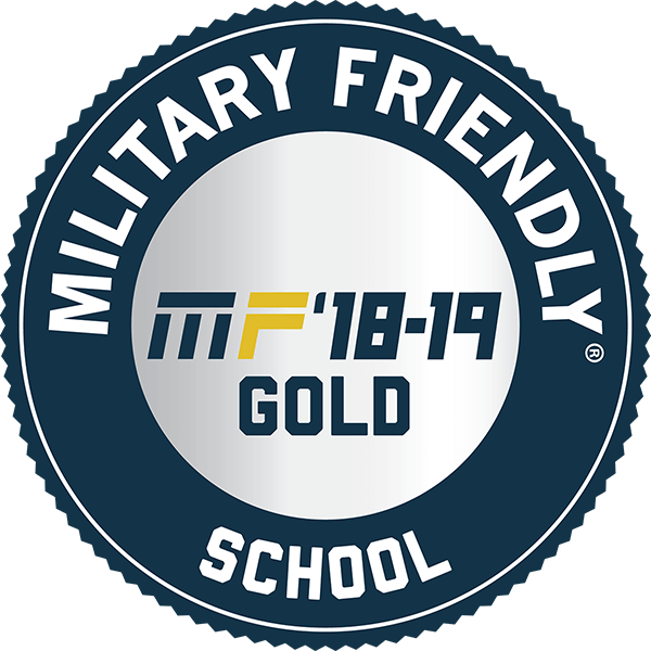 """Military Friend School"" label"