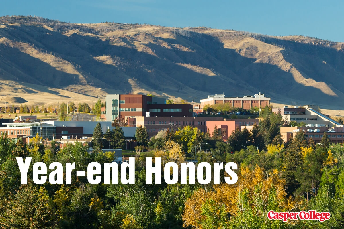 Image for Casper College employees honored press release.
