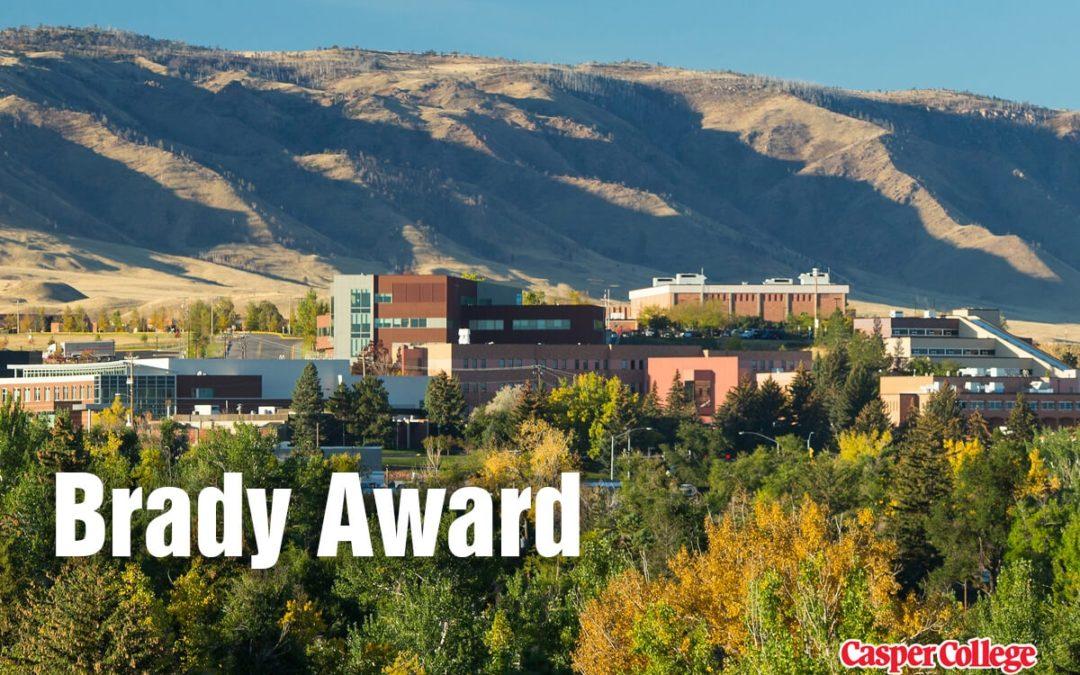 Two Receive Brady Award