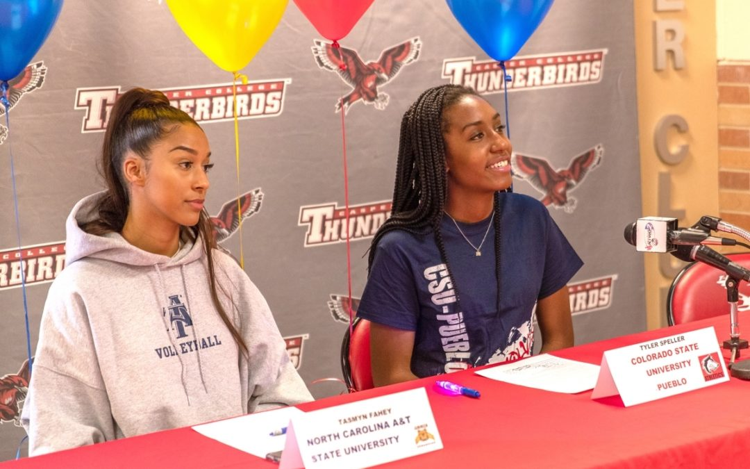 Two Volleyball Players Sign Letters of Intent