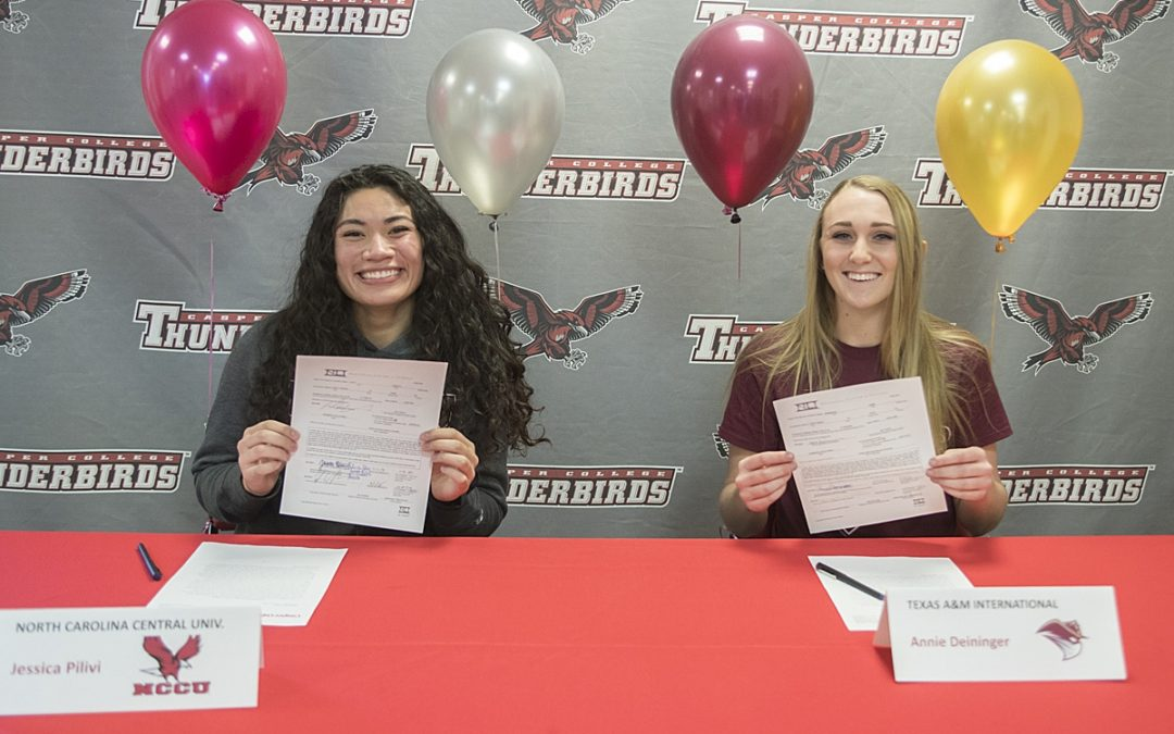 Volleyball Players Sign Letters of Intent