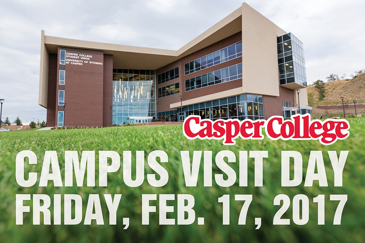 Casper College will hold a spring campus visit day on Friday, Feb. 17.