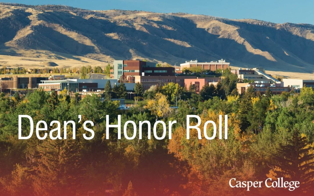 Spring 2020 Dean's Honor Roll at Casper College announced