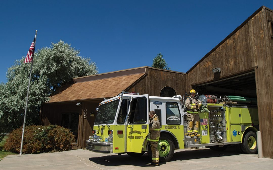Fire Station Joins Campus