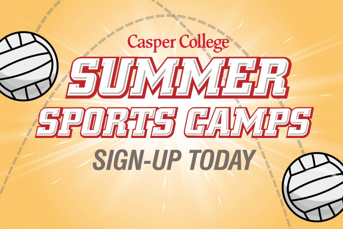 Image for girls' volleyball camp release.