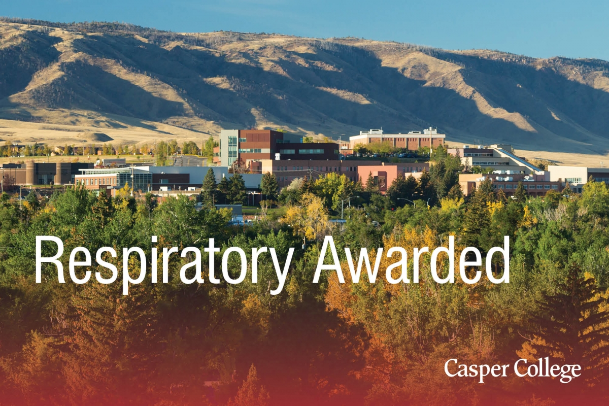 Image for respiratory therapy award press release.