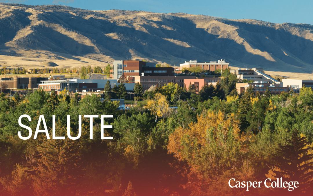 Casper College joins SALUTE