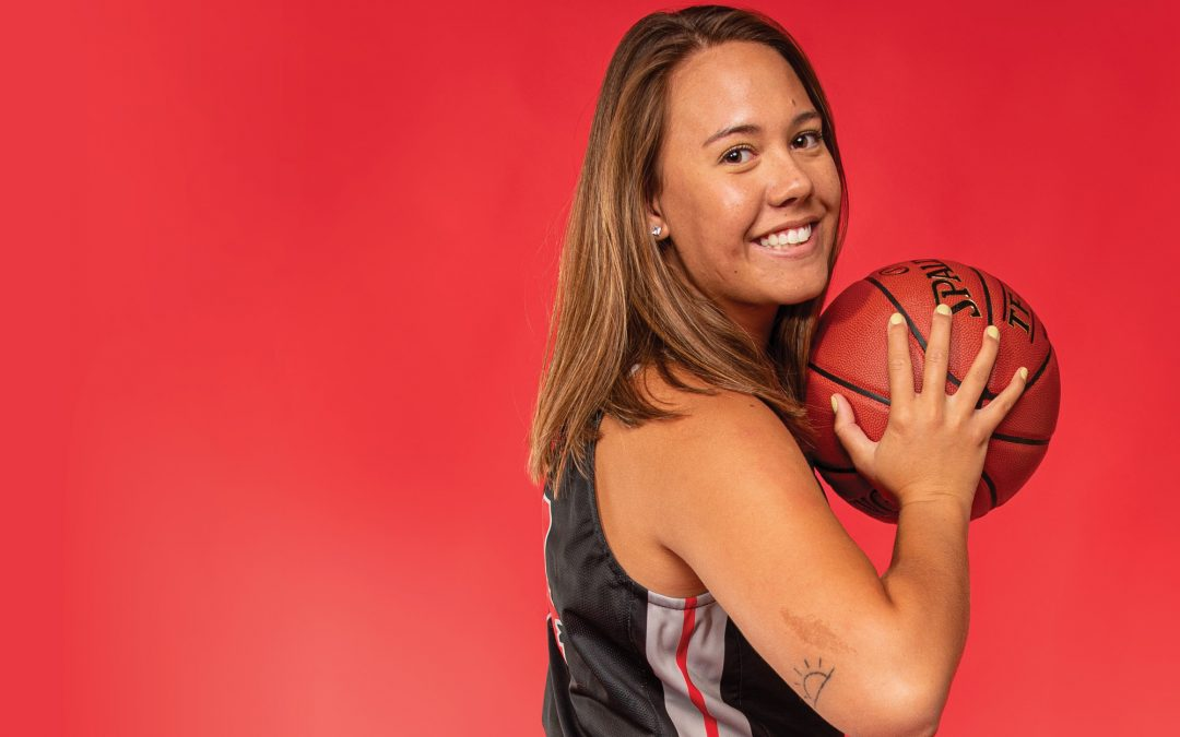 Women's Basketball 2019-2020: Q and A: Meet Ashley Tehau