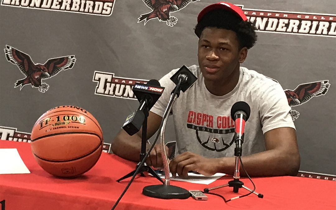 T-Bird early signee for Division 1 Jaguars