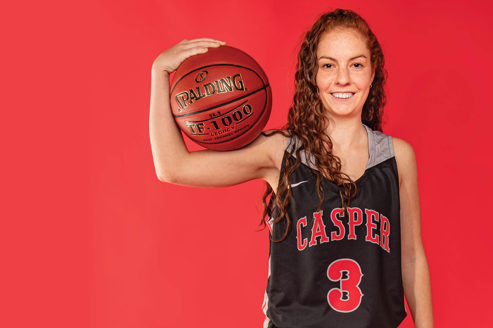Photo of Casper College Women's Basketball player Raquel Ferrer-Bernad