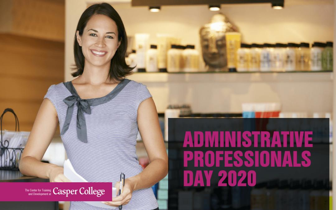 Casper College announces date for administrative professionals