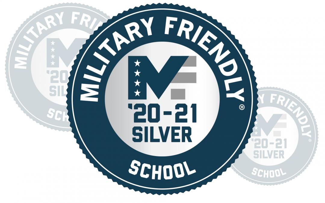 Casper College 2020-21 Military Friendly Silver school