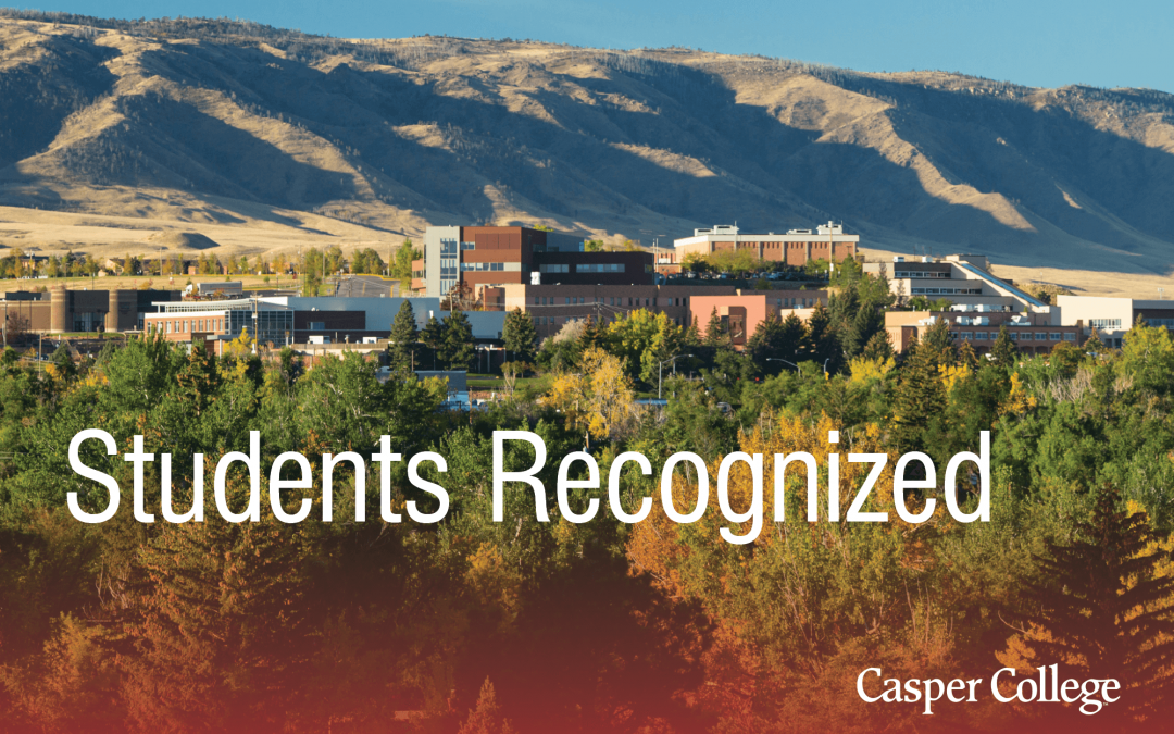 Four Casper College students recognized