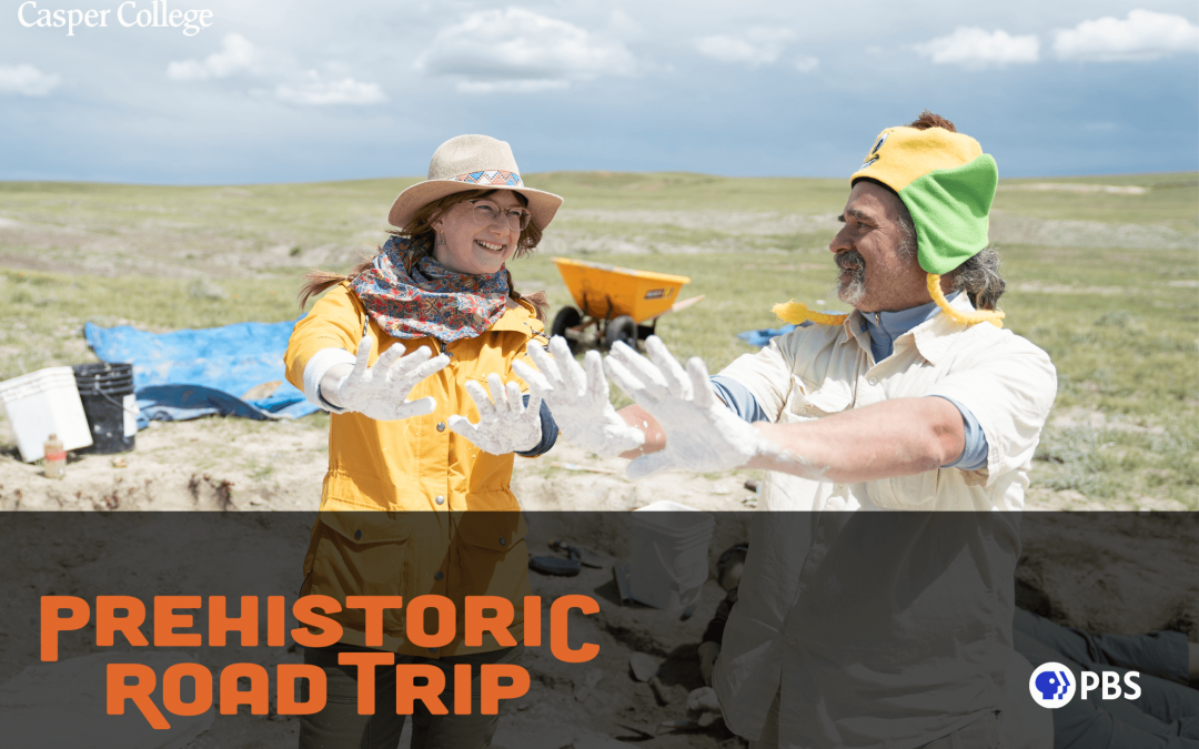 CC employees and Tate featured in 'Prehistoric Road Trip' on PBS