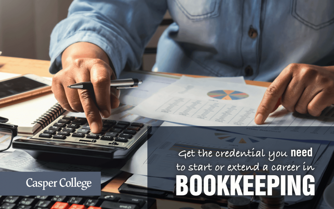 Bookkeeping certificate and degree offered at Casper College