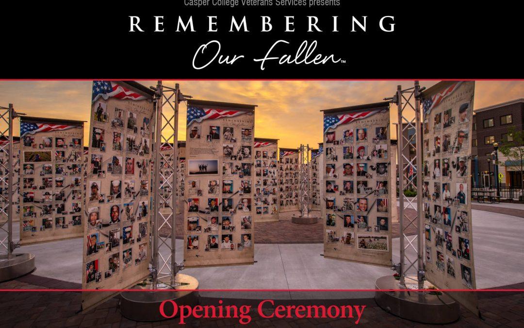 Gov. Gordon to speak at opening for 'Remembering Our Fallen Memorial'