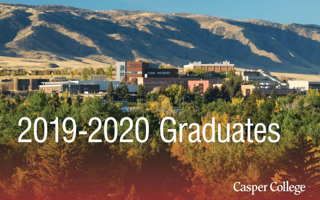 Casper College announces 2019-2020 graduates