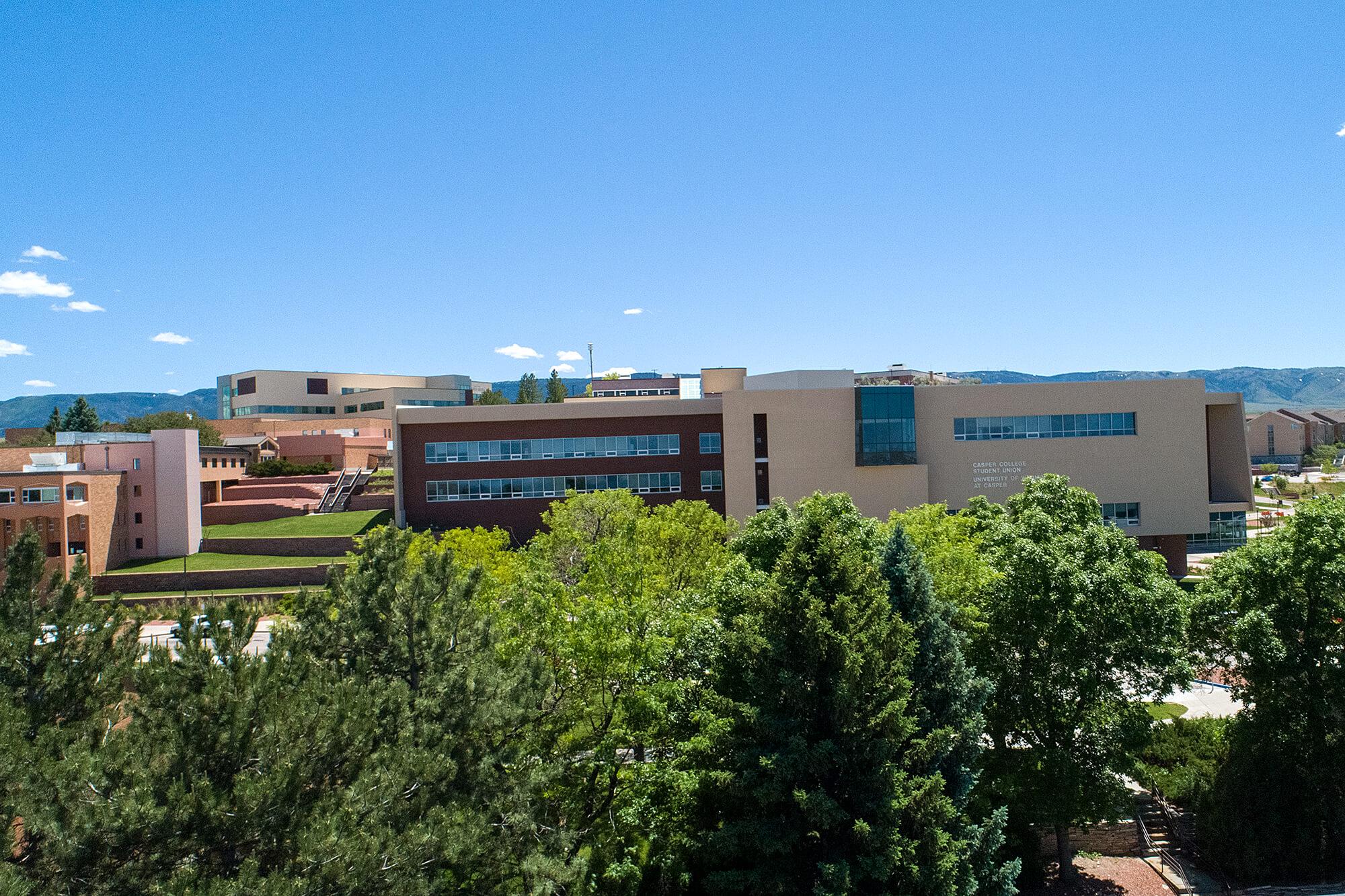 Photo of Casper College campus.
