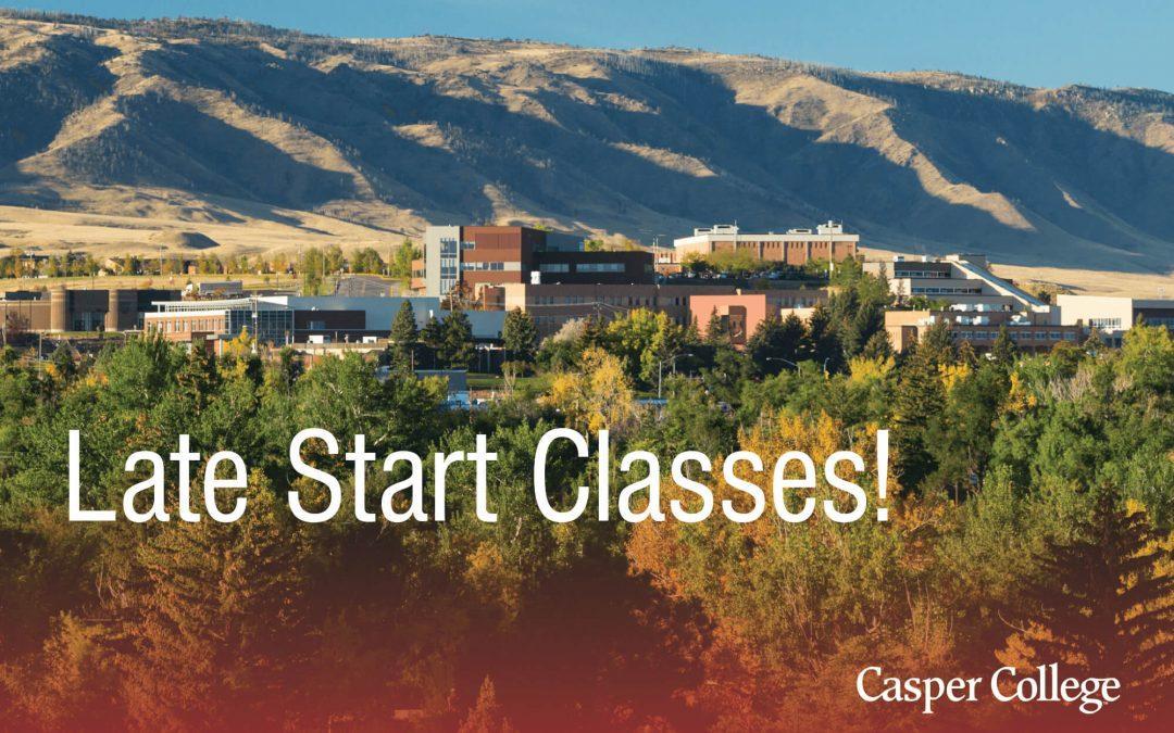CC offers five late-start classes beginning Oct. 19