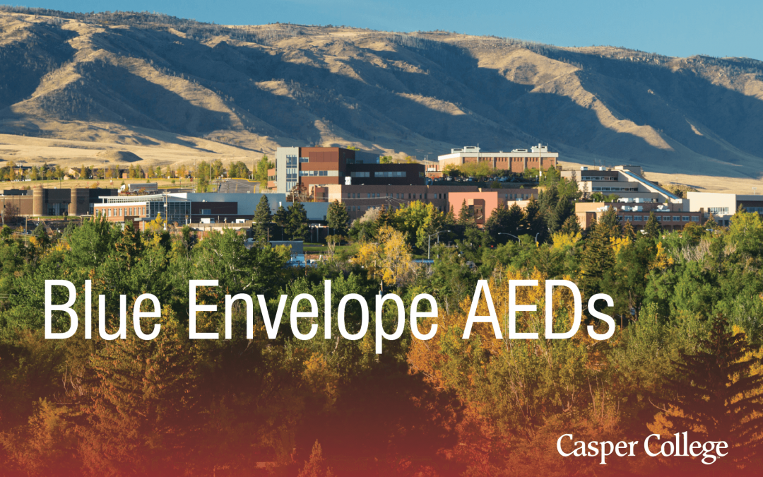 Blue Envelope provides AED units to Casper College