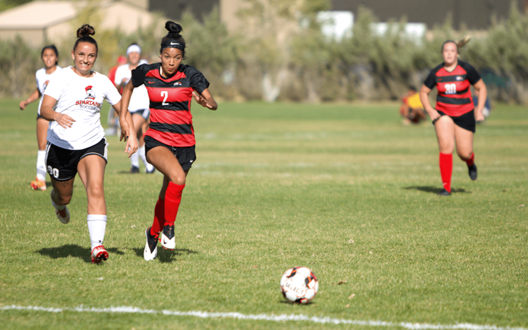 Women's soccer team shines in first contests