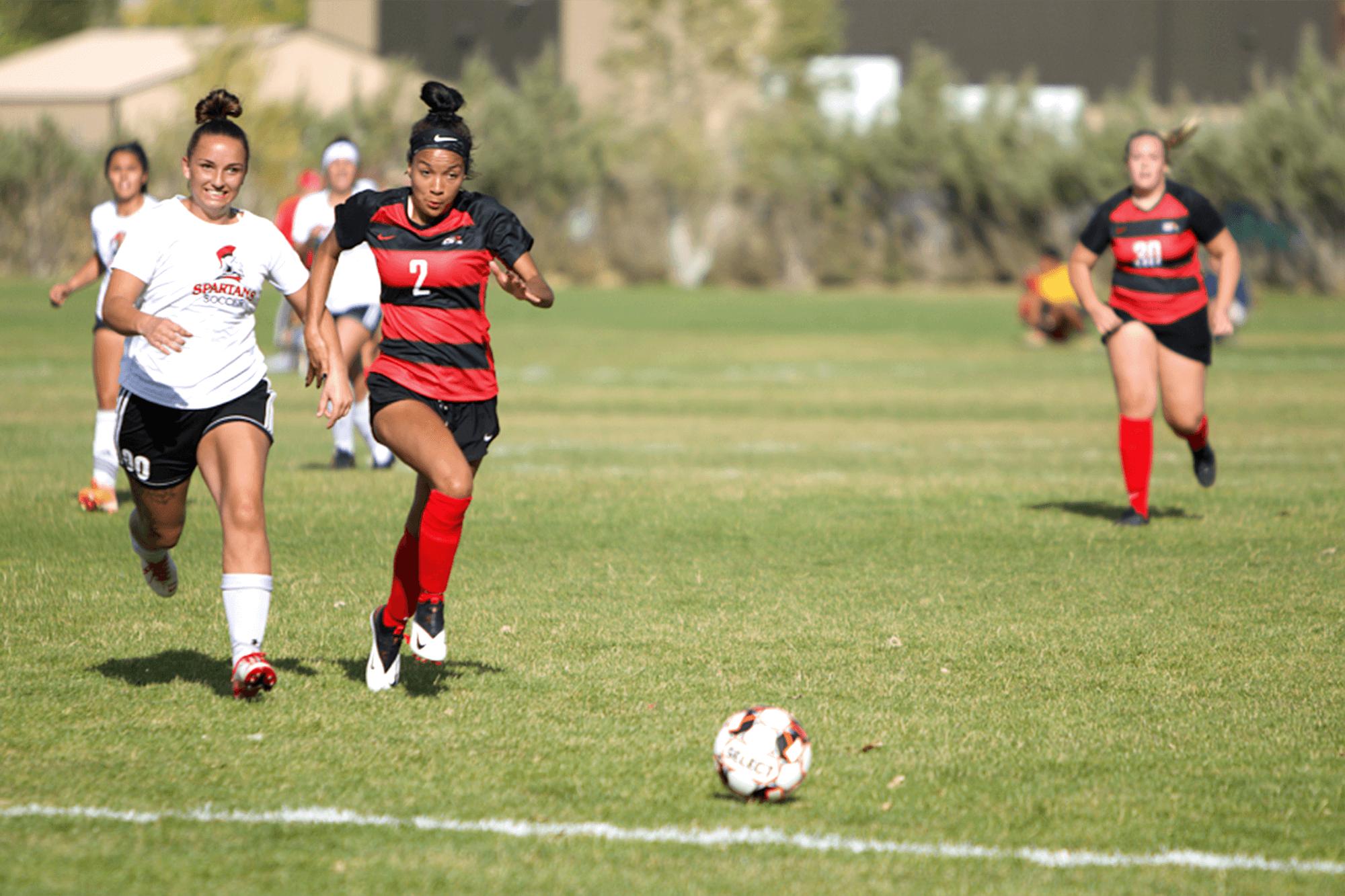 Photo of Casper College Women's Soccer player Maya Jones.