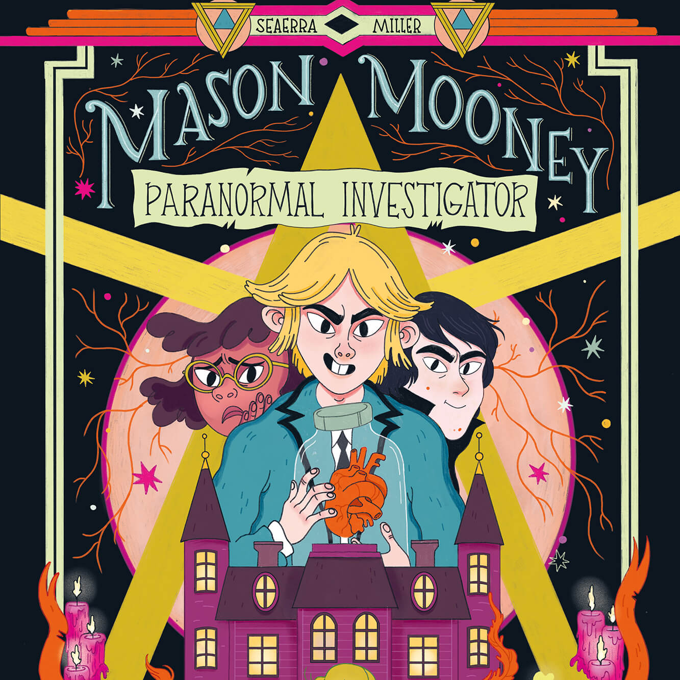 """Image of the book cover for """"Mason Mooney Paranormal Investigator."""""""