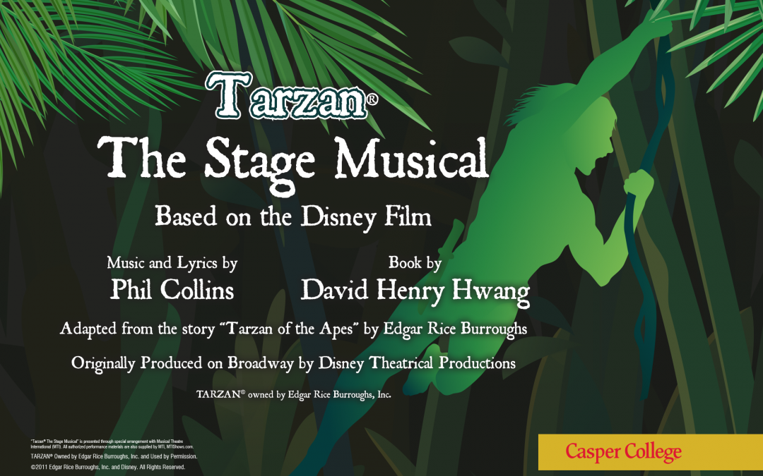 """Tickets for """"Tarzan The Stage Musical"""" on sale"""
