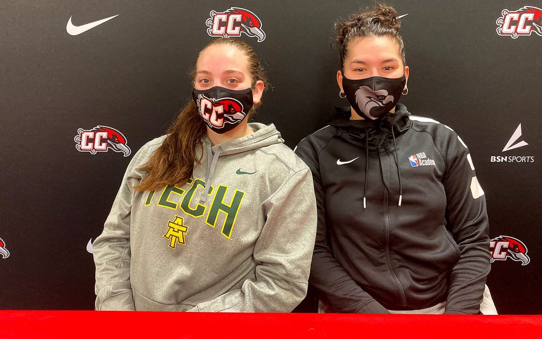 Two CC players sign letters of intent