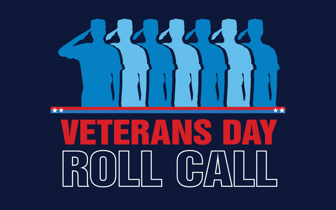 Veterans Roll Call Nov. 11