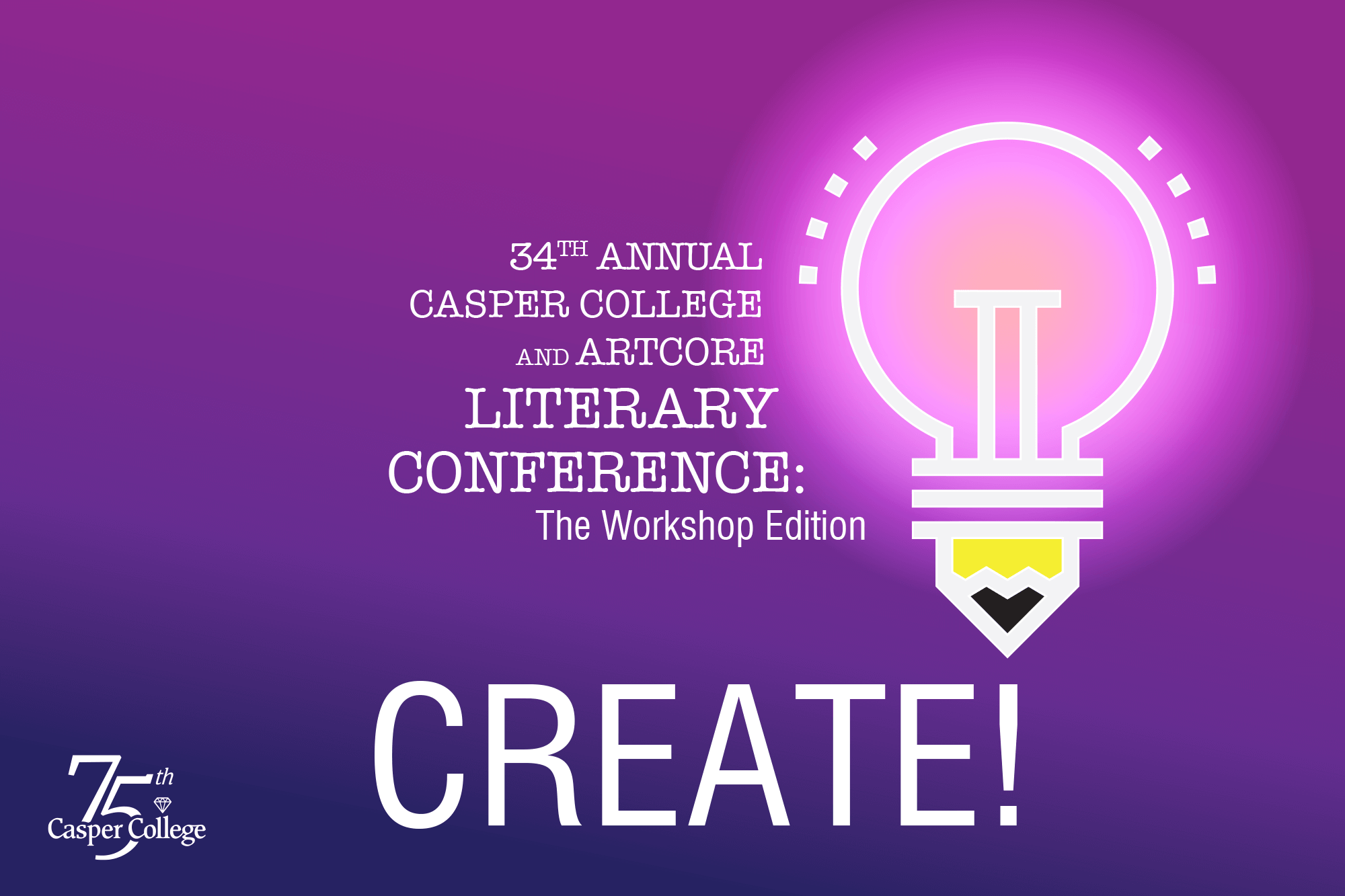 """Image for Literary Conference """"Create!"""""""
