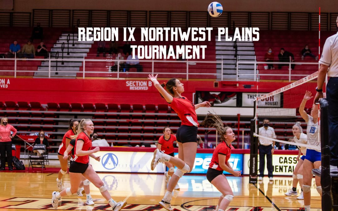 Region IX Volleyball Tournament at Casper College, Lady T-Birds No. 1 seed