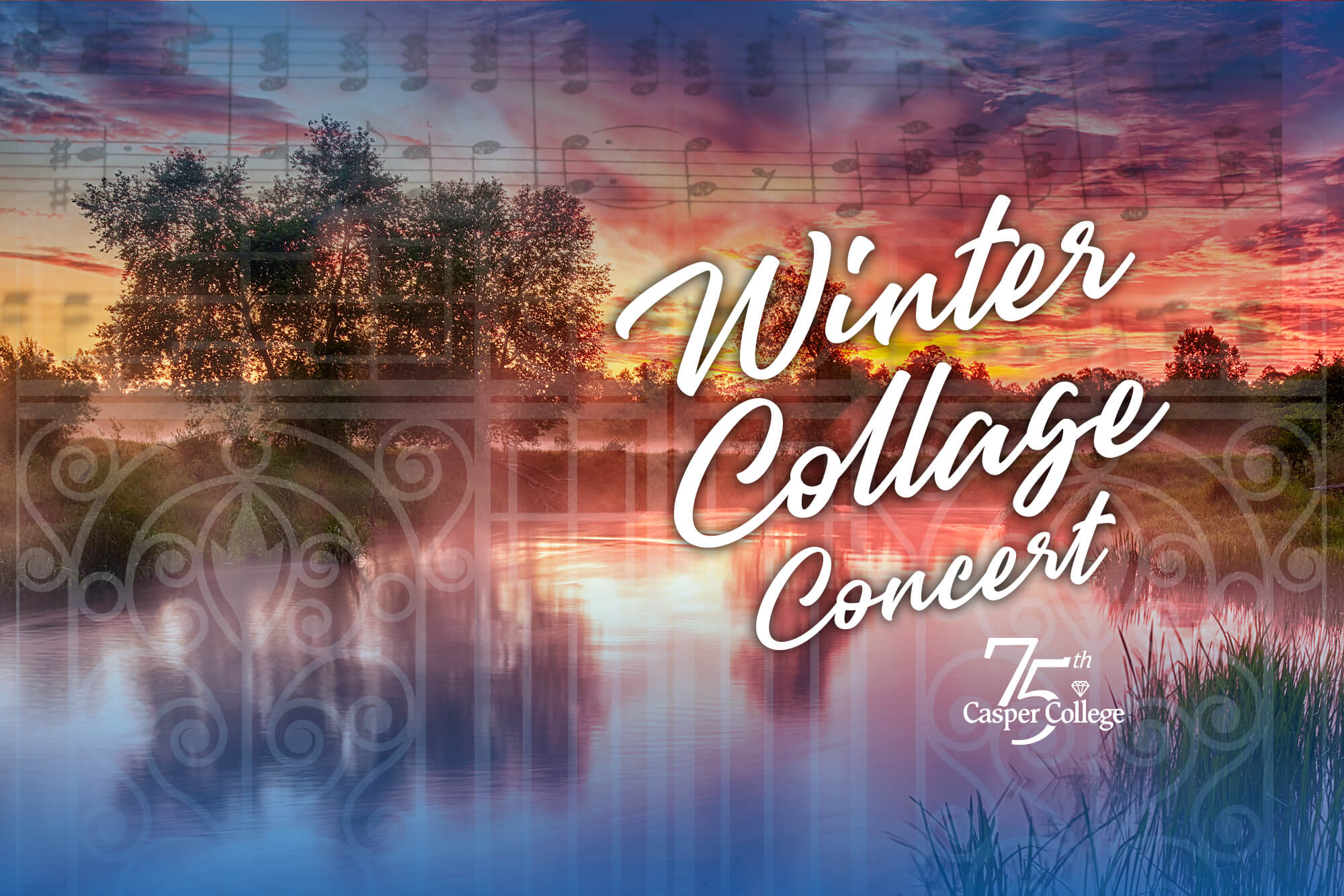 Image for Winter Collage concert.