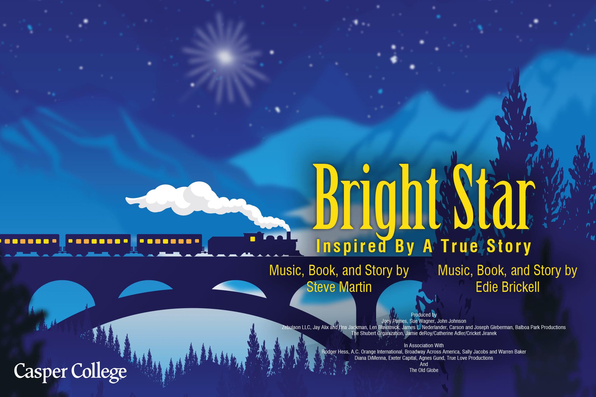 "Image for Casper College musical ""Bright Star."""