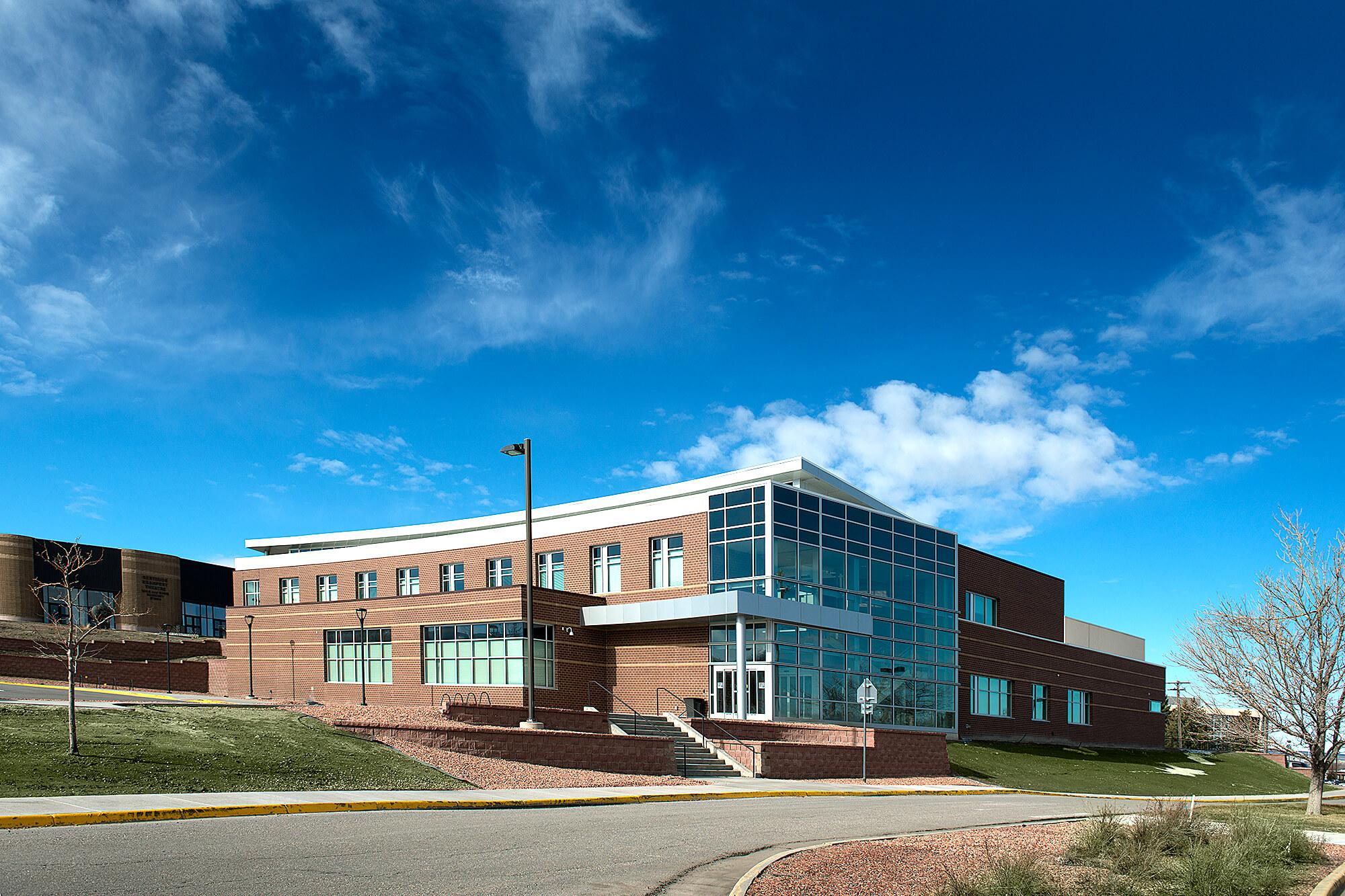 Photo of the Casper College Music Building.