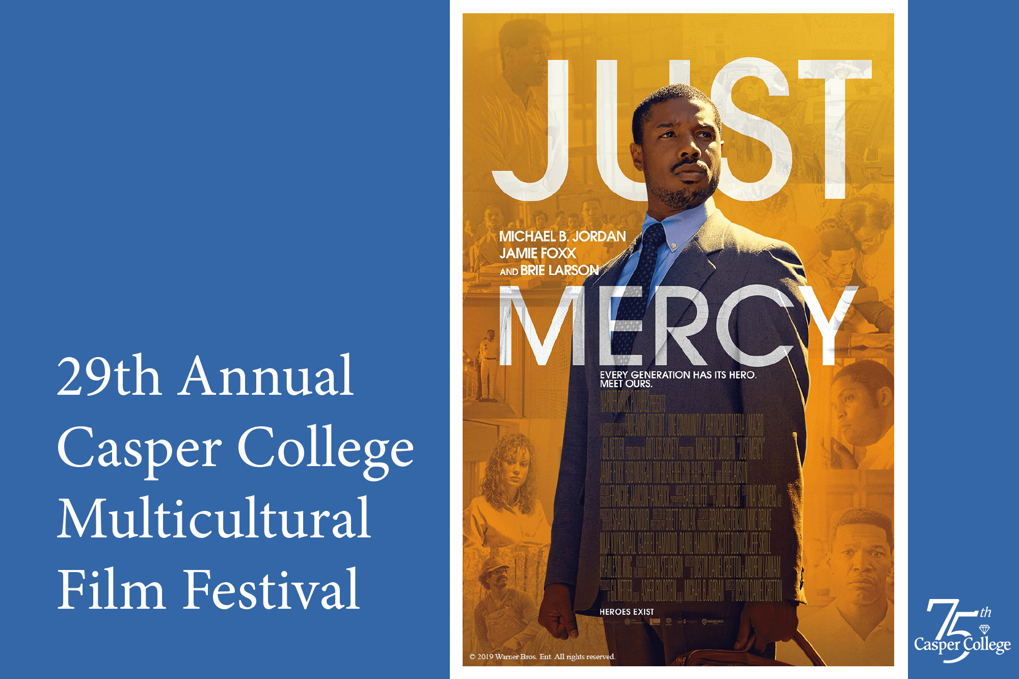 Image for second Casper College Multicultural Film Festival showing.