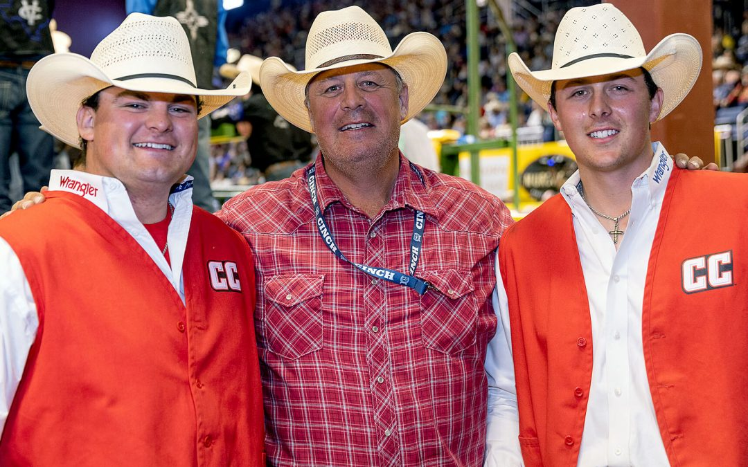 Casper College's Johnson brothers take first; team takes third at CNFR