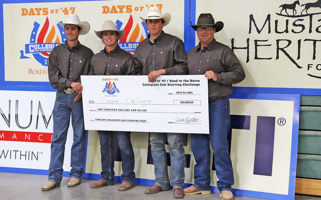 CC cowboys take second at Road to the Horse challenge